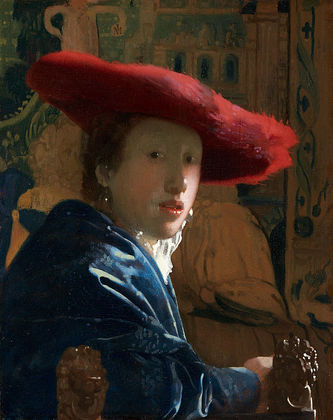 赤い帽子の女.JPG